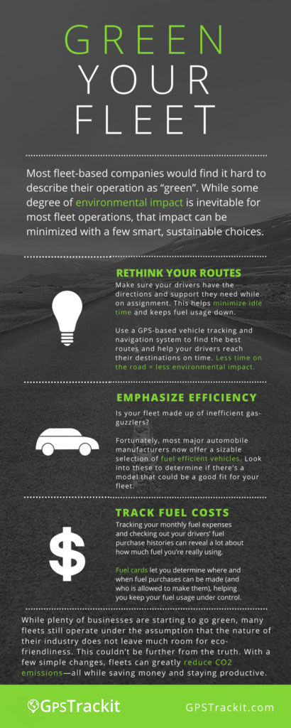 Green Your Fleet Infographic