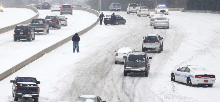 Fleet Manager Detects Dangerous Black Ice In Charlotte, North Carolina