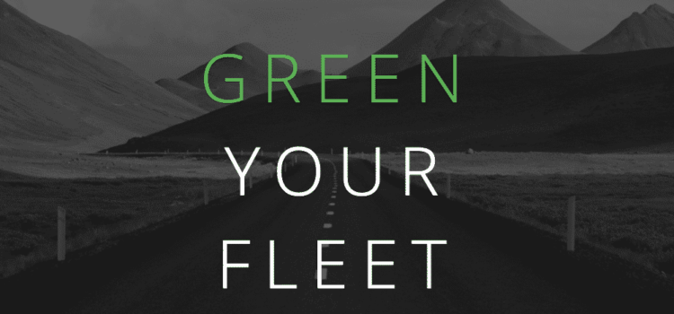 Green Your Fleet: How to Reduce Your Business' Carbon Tread Mark