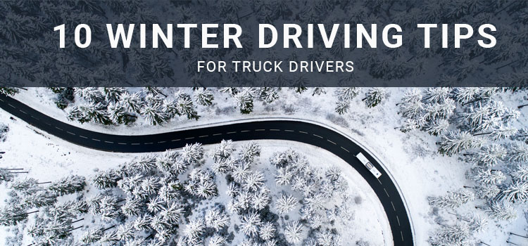 10 Key Winter Weather Truck Driving Tips